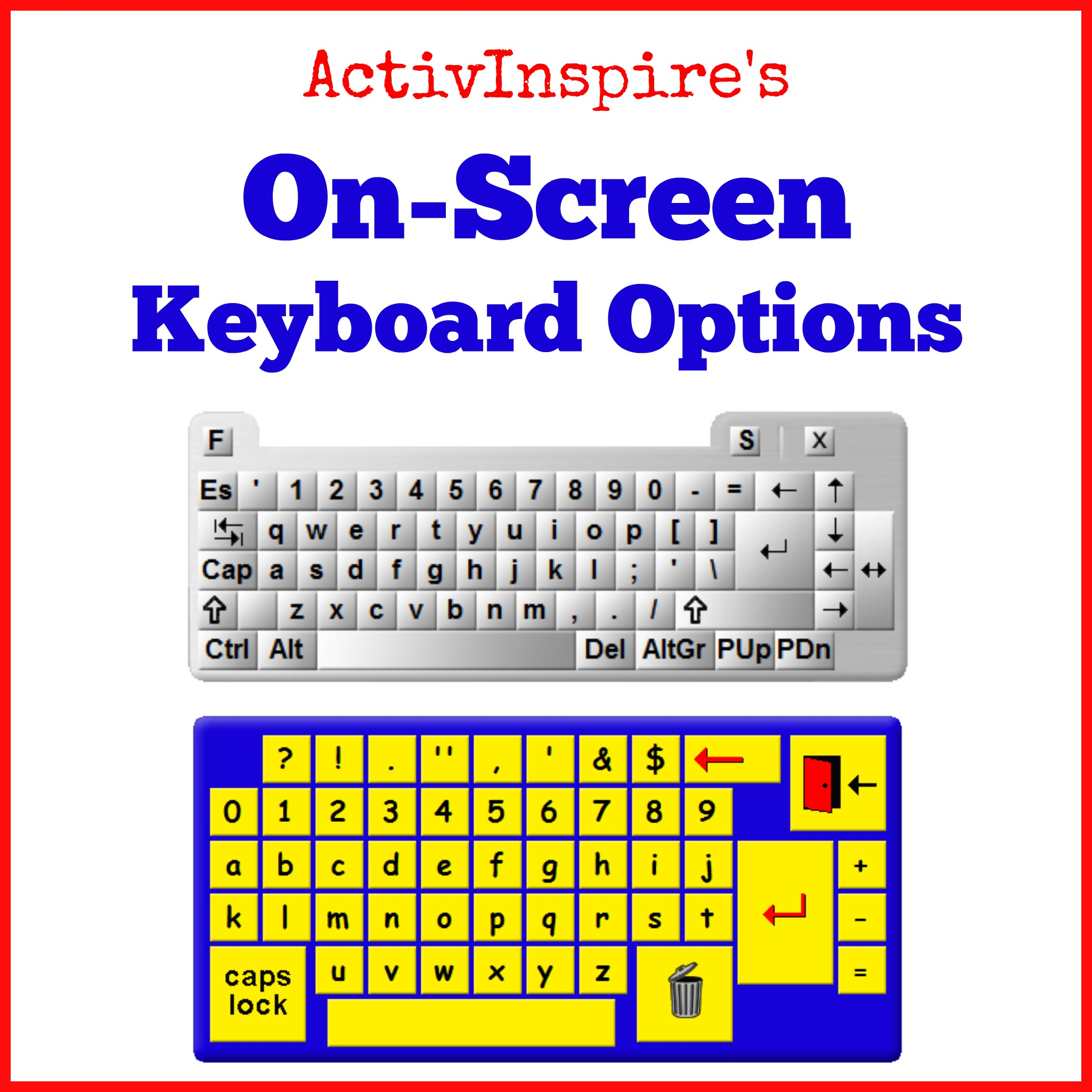 On-Screen Keyboard (Tech Tip Tuesday 15) | Ed  Tech  Resources
